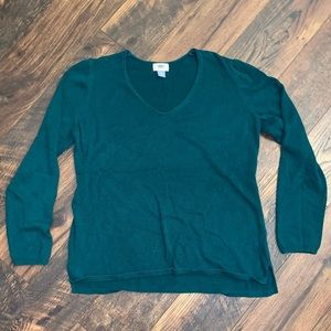Old Navy V-Neck Sweater - XL - Green